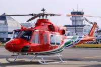 ニュース画像:長野県消防防災ヘリコプター、新機材で運航開始