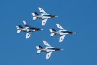 ニュース画像:ブルーインパルス、富山県で初飛行 4月22日のチューリップフェア