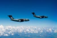 ニュース画像:KC-390ミレニアム、同じ機種間の空中給油能力を獲得