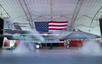 ニュース画像:最新のF-15EX、愛称は「イーグルII」