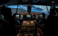 ニュース画像:中日本航空、名古屋本社にAW139シミュレーター導入