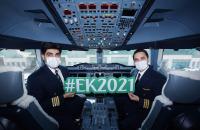 ニュース画像:エミレーツ、乗務員・乗客400人ワクチン接種済で遊覧フライト