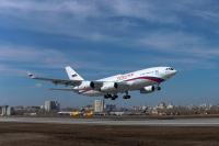ニュース画像 2枚目:最新技術で機体塗装が施されたロシア政府向けIL-96-300