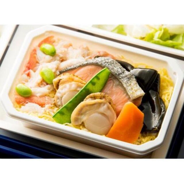 ニュース画像 1枚目:アジア遊覧飛行セットの「海の幸丼」