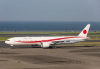 ニュース画像:政府専用機、菅首相のアメリカ訪問で運航 任務前に羽田到着