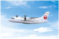 ニュース画像 2枚目:北海道エアシステムが新たに受領したATR42-600型機 機体番号(レジ)「JA12HC」