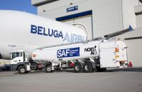 ニュース画像:エアバス・ベルーガ、ブロートン拠点でも持続可能な航空燃料を使用