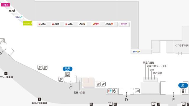ニュース画像 1枚目:福岡空港 国内線1階チェックインカウンター (4/15時点)イメージ