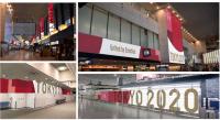 ニュース画像:成田空港、オリンピック装飾スタート 6月から滑走路脇に「草文字」