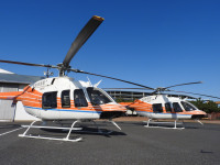 ニュース画像:ベル・テキストロン、日本初ベル407GXi 新日本ヘリコプターに納入
