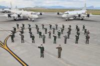 ニュース画像:海自と米海軍EP-3、東シナ海で日米共同訓練