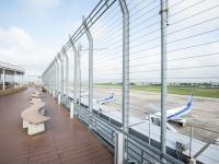 ニュース画像:仙台空港、展望デッキ「スマイルテラス」再開