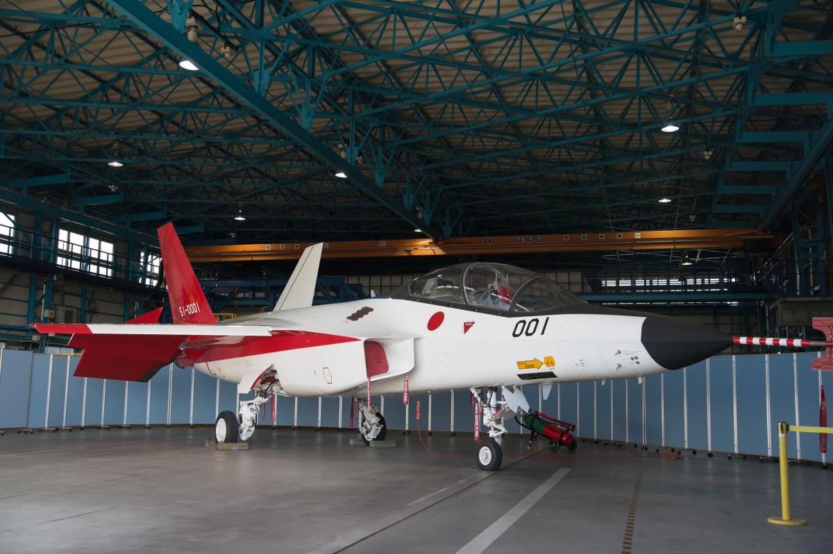ニュース画像 2枚目:岐阜基地航空祭でX-2は注目の的。今後の展示も期待されるところ (はっし~さん撮影)