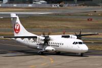 ニュース画像:北海道エアシステム、2号機目のATR42 予定より3日早く路線投入