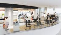 ニュース画像:福岡空港、カフェ併設「Made in ピエール・エルメ」オープン