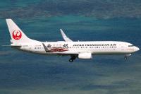 ニュース画像:JTA、特別塗装機「首里城」運航終了 15カ月間にわたり活躍