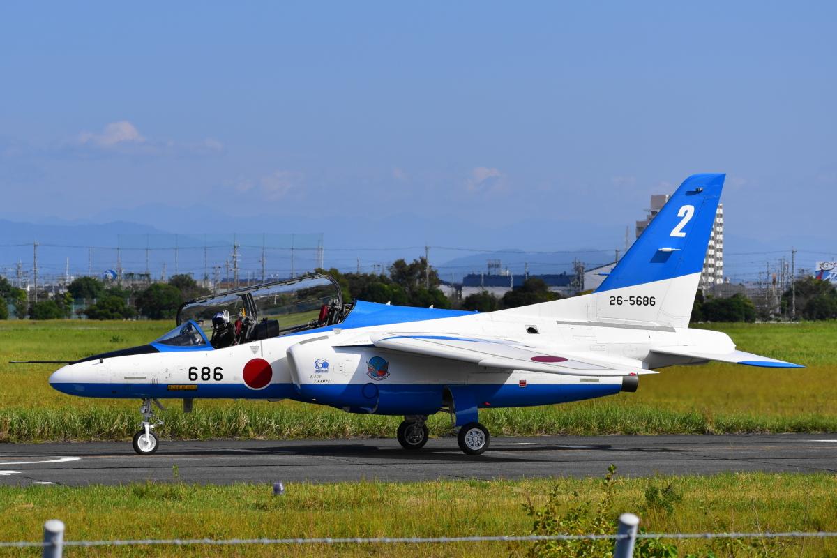 ニュース画像 4枚目:26-5686 (せせらぎさん 浜松基地 2020/10/07 撮影)