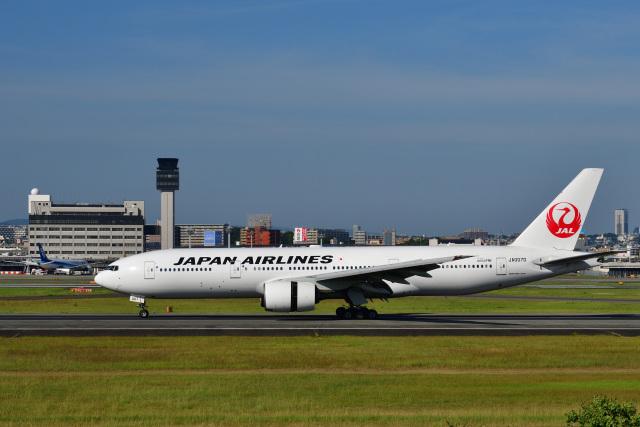 ニュース画像 1枚目:JAL ボーイング777-200型機イメージ(かえでさん撮影)
