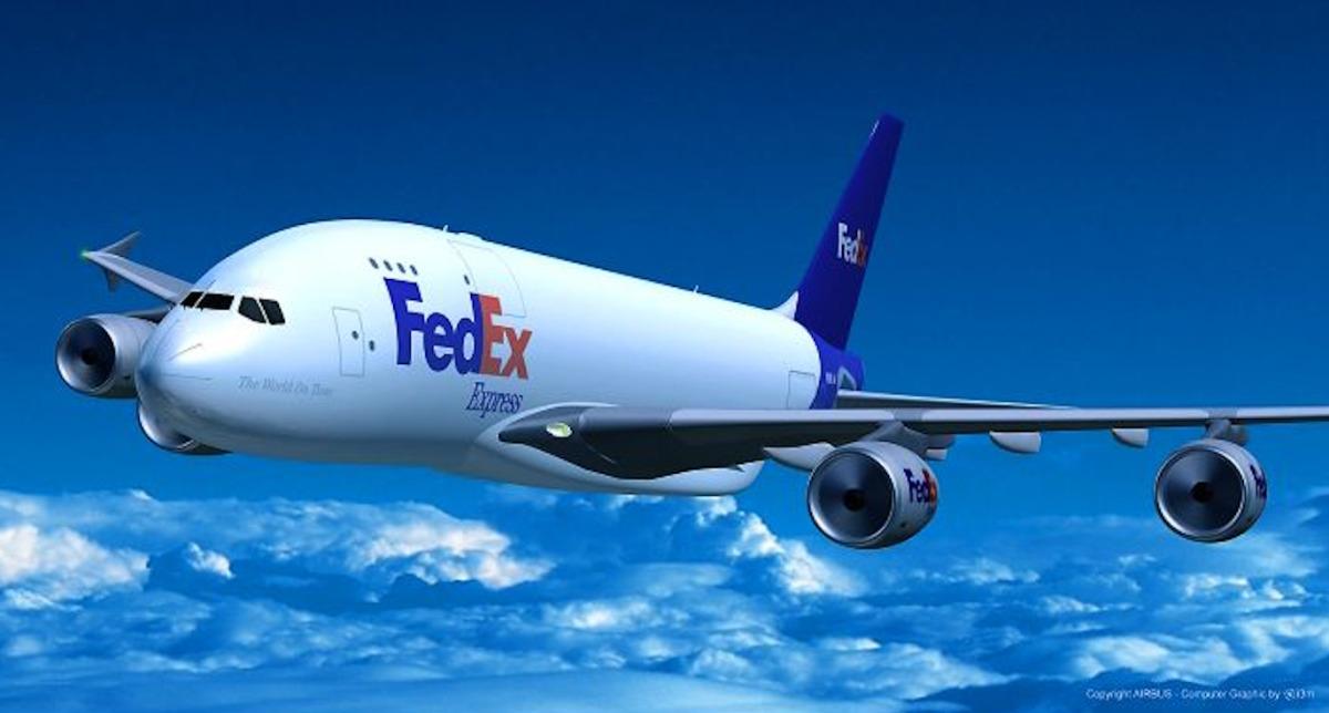 ニュース画像 5枚目:フェデックス A380イメージ