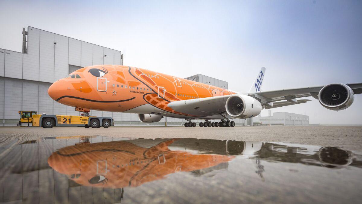 ニュース画像 7枚目:日本にやってくるのはいつになるか、ANAのA380「JA383A」