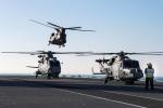 ニュース画像 3枚目:過去の遠征で最大規模のヘリ勢力を派遣