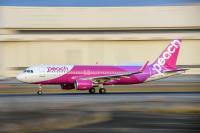 ニュース画像:ピーチ、5・6月国内線さらに減便 5月運航率39.2%に縮小