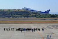 ニュース画像 3枚目:以前は747も就航していた長崎空港 (6306さん撮影)