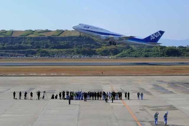 ニュース画像 4枚目:以前は747も就航していた長崎空港 (6306さん撮影)