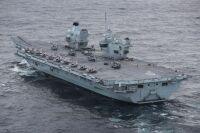 ニュース画像 2枚目:空母「クイーン・エリザベス」での艦載機たち