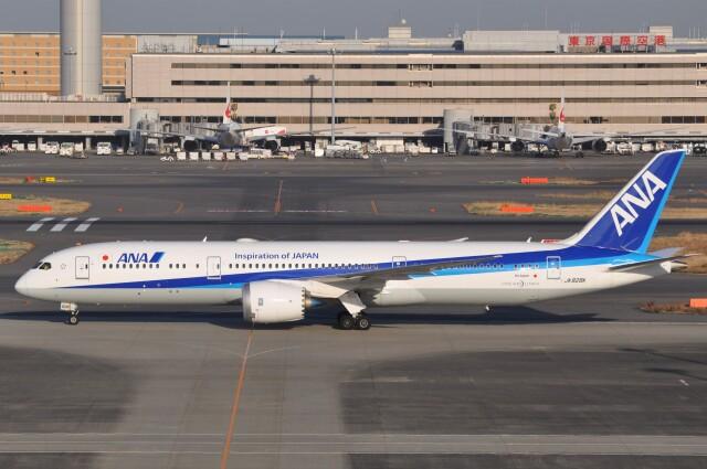 ニュース画像 1枚目:ANA ボーイング787-9型イメージ (Flying A340さん撮影)