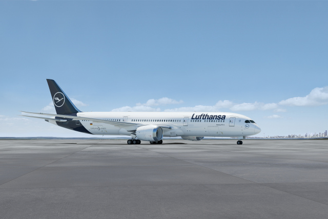 ニュース画像 1枚目:ルフトハンザ塗装 787-9