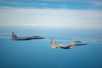 ニュース画像:F-15EXイーグルII、F-35や空母打撃軍などと演習