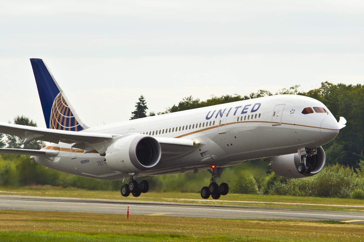 ニュース画像 1枚目:ユナイテッド航空 787-8