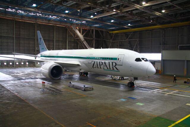 ニュース画像 1枚目:ZIPAIR 787