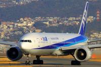 ニュース画像:ANAの国際線仕様777-300ER、「JA781A」が離日