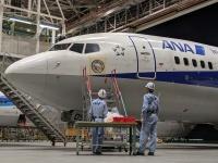 ANA、737-700完全退役前に歴史と感謝の記念デカールの画像