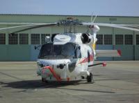 ニュース画像:SH-60Kベースの回転翼哨戒機・能力向上型、飛行試験を開始