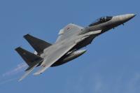 ニュース画像:馬毛島での空自F-15戦闘機デモフライト、5月11日・12日は中止