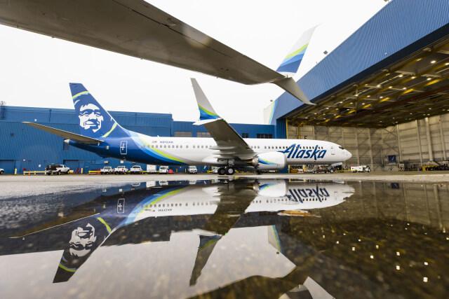 ニュース画像 1枚目:アラスカ航空 737 MAX