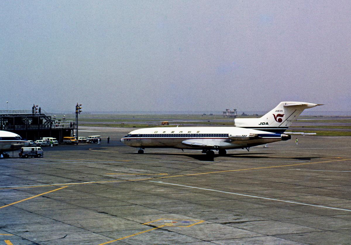 ニュース画像 3枚目:日本国内航空時代の「JA8315」 (Y.Todaさん撮影)