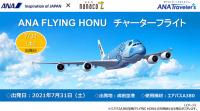 ニュース画像:ANA A380空飛ぶウミガメ、7月チャーター便 セブン&アイ販売