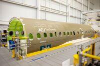 ニュース画像:エアバス、ACJ220初号機組み立て開始