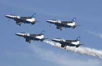 ニュース画像:ブルーインパルス、5月20日に事前訓練 山形市の東北絆まつり展示飛行