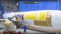 ニュース画像:アラスカ航空、ワンワールド&黒人学生支援団体との特別塗装機メイキング映像公開