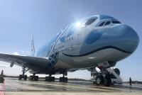 ニュース画像:ANAが導入したA380、日本の空での軌跡