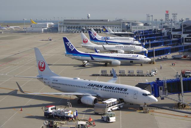 ニュース画像 1枚目:JAL、ANAイメージ(yabyanさん撮影)