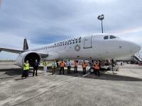 ニュース画像:印ビスタラ、初のエアバスA320neo自社購入機を受領