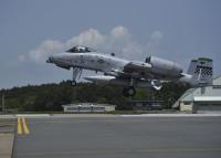 ニュース画像:A-10サンダーボルトII、三沢基地にも飛来