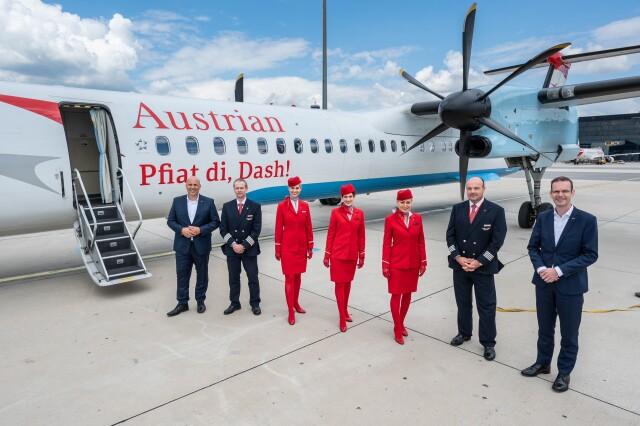 ニュース画像 1枚目:オーストリア航空、DHC-8-400を完全退役