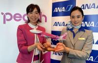 ニュース画像:ANA、ピーチ運航便でコードシェア 8月から